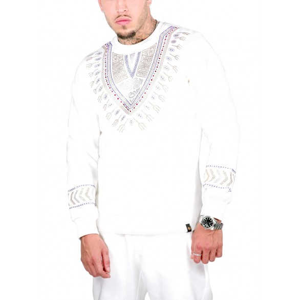 MEN'S SWEAT SHIRT WHITE