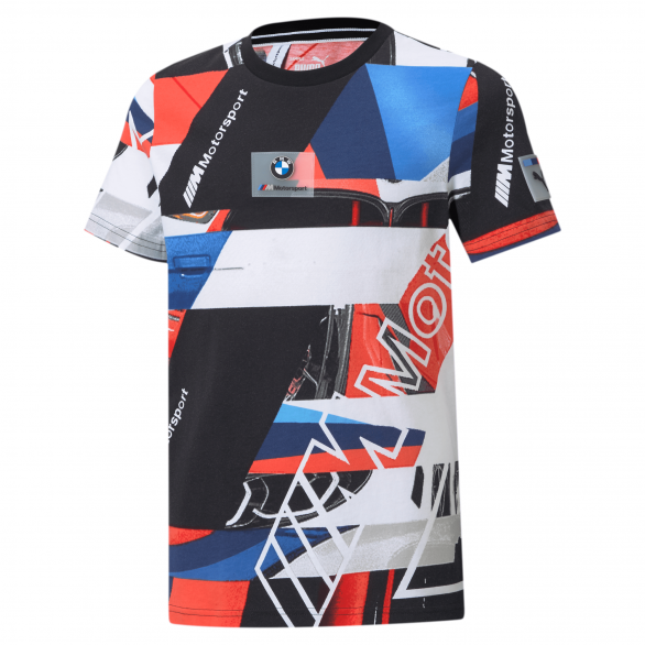 Tee-shirt Puma BMW M MOTORSPORT STREET AOP Junior