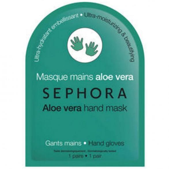 Sephora - Masque main gants Aloe Vera